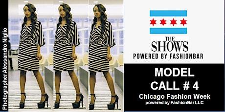 Model Call 4: 2022 SS  - Chicago Fashion Week powered by FashionBar LLC tickets