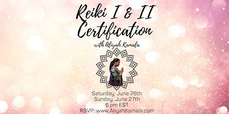 Reiki I Training & Certification tickets
