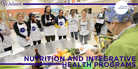 Webinar | MUIH Nutrition Programs - Learning to Become a Nutritionist tickets