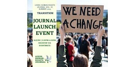 Leeds Human Rights Journal Launch Event tickets