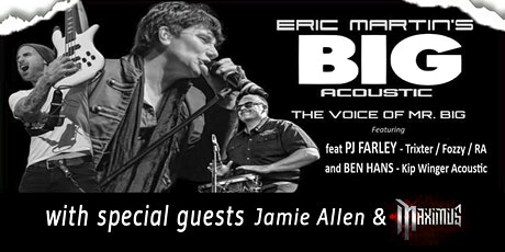 Eric Martin's BIG Acoustic Show PLUS Meet and Greet tickets