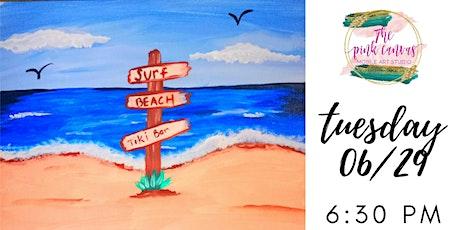 Life's a Beach Paint Night tickets