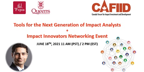 CAFIID  Impact Innovators Networking Event  + Impact Analysis tickets