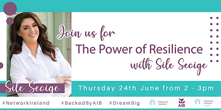 Network Ireland Tipperary Branch - join us with Guest Speaker Síle Seoige image