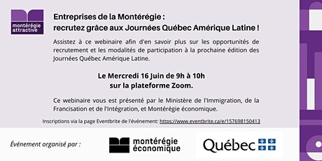 Présentation des Journées Québec Amérique Latine billets