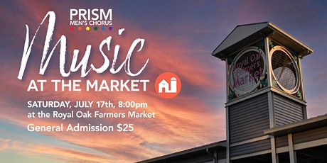 PRISM presents: Music at the Market tickets