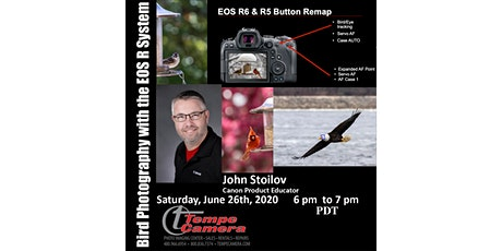Bird Photography with the EOS R system tickets