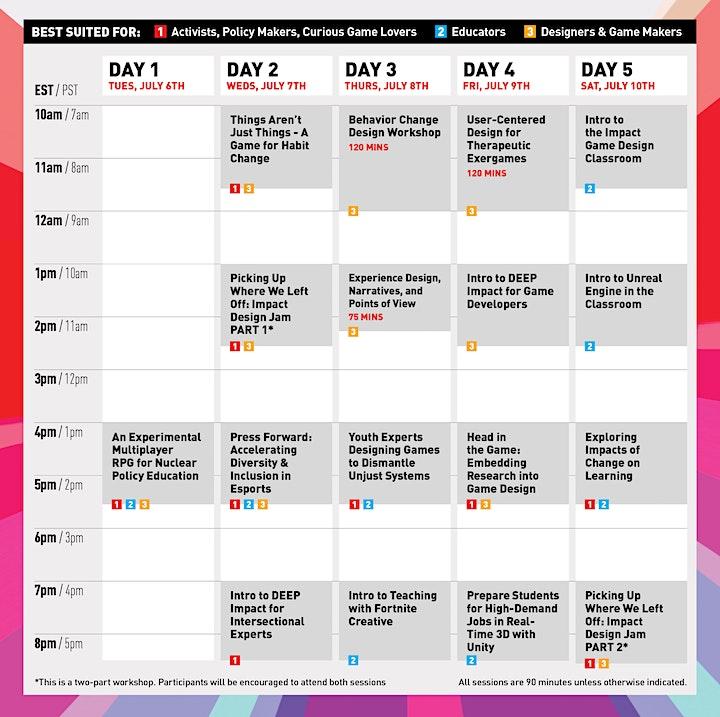 The 2021 Games for Change Festival Workshop Week image