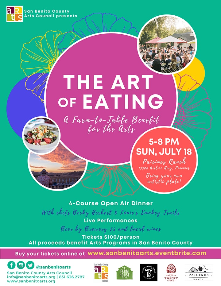 Art of Eating: A Farm to Table Benefit for the Arts image