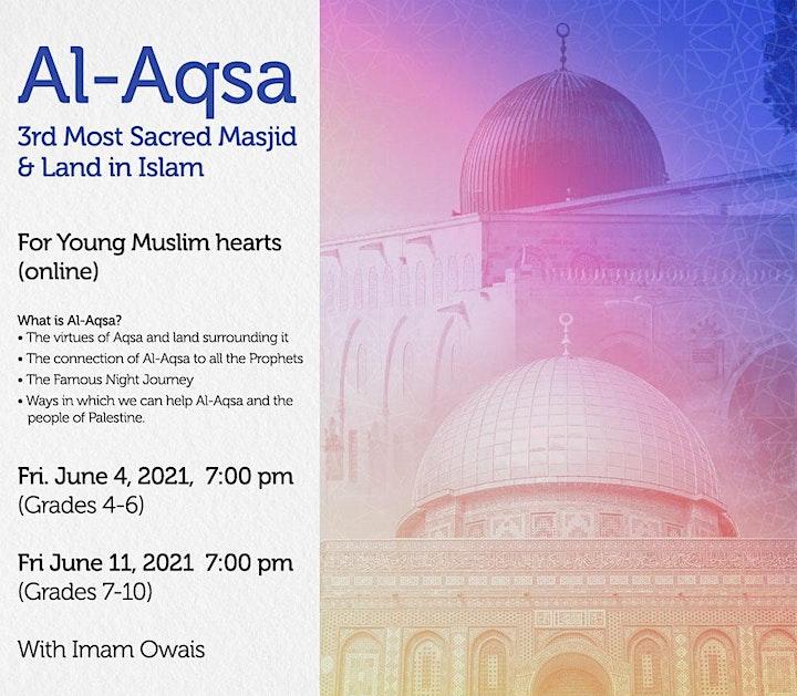 Al-Aqsa 3rd Most Sacred Masjid & Land in Islam (Grades 7-10) image