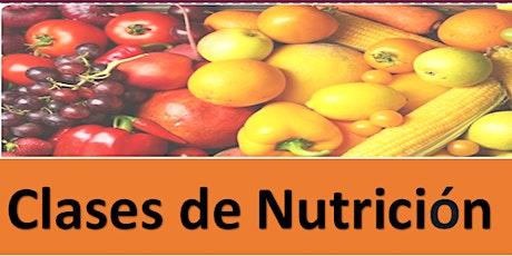 Serie Virtual de Clases de Nutrición boletos