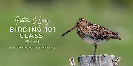 Birding 101 - Birding for Beginners (Sunday Mornings) tickets