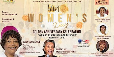 8:00am - 50+1 Women's Day Celebration Service tickets