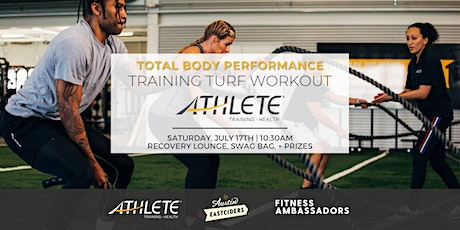 Total Body Performance Training Turf Workout with Fitness Ambassadors tickets