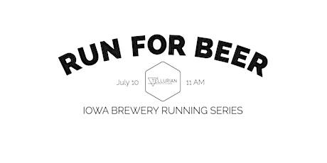 Beer Run - Tellurian Brewing  | 2021 Iowa Brewery Running Series tickets