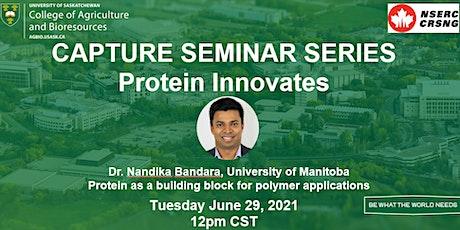 CAPTURE Seminar Series: Protein Innovates #5 tickets