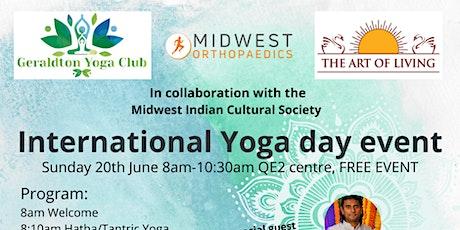 International Yoga Day at Geraldton tickets
