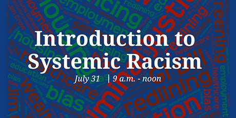Introduction to Systemic Racism tickets