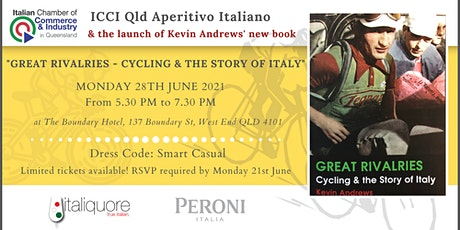 ICCI QLD Aperitivo Italiano and the launch of Kevin Andrews' new book tickets