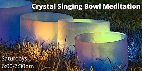 Crystal Singing Bowl Meditation tickets