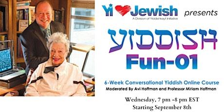 Yiddish Fun 01- 09-08-21 tickets