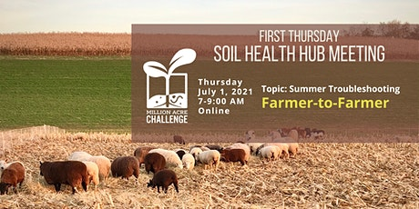 First Thursday Soil Health Hub Meeting tickets