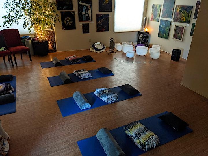 Chakra Clearing Breathwork + Sound Healing image