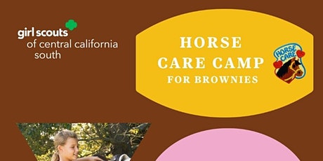 Horse  Care Camp for Brownies - Tulare tickets
