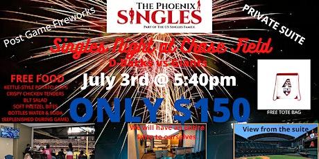 "Phoenix Singles ""Suite"" Night @ AZ D-Backs Game tickets"