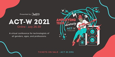 ACT-W Conference 2021 tickets