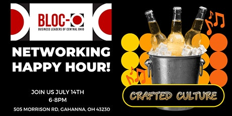 BLOC-O Networking Happy Hour tickets