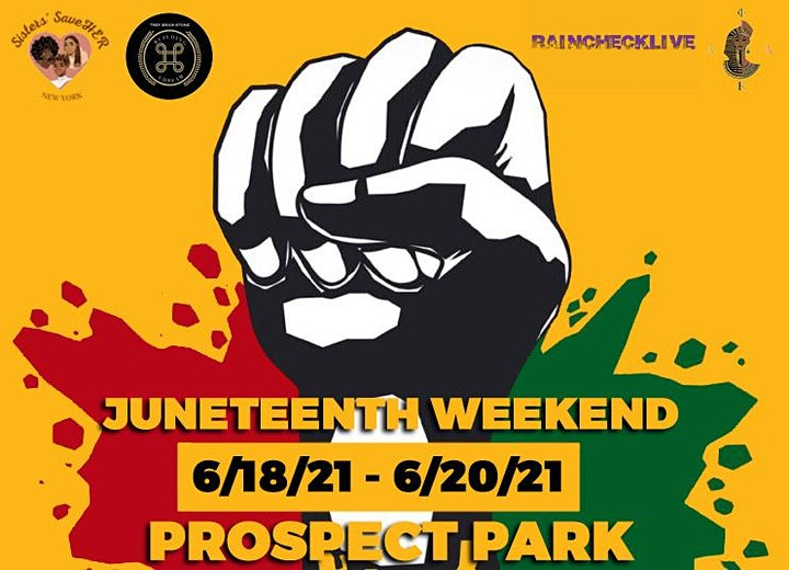 Official Juneteenth NYC image