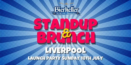 Standup and Brunch - Liverpool tickets