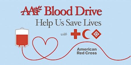 AAi Blood Drive tickets