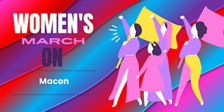 Women's March On Macon tickets
