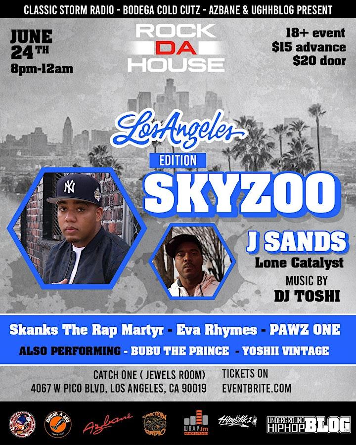 SKYZOO IN LOS ANGELES 6/24 image