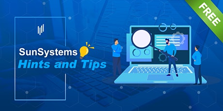 Infor SunSystems Hints and Tips tickets