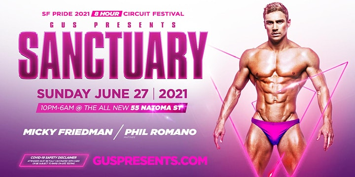 SANCTUARY  | THE San Francisco Pride Sunday Party image