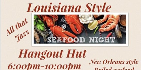 Wednesday Seafood Nights tickets