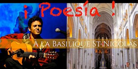 ¡ Poesía ! Eddy Maucourt chante Paco Ibañez tickets