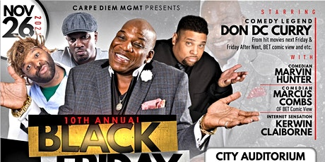 The 10th Annual  Black Friday Comedy Show / Vicksburg tickets
