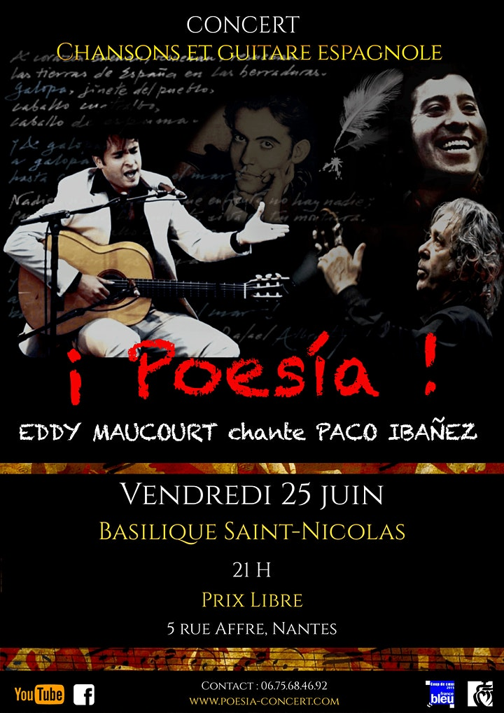 Image pour ¡ Poesía ! Eddy Maucourt chante Paco Ibañez