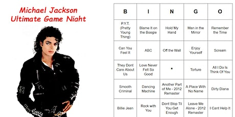 Michael Jackson Ultimate Game Night tickets