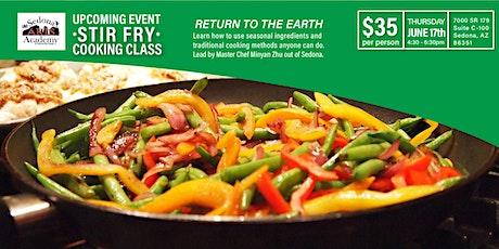 Stir Fry Cooking Class tickets