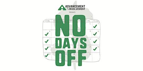 No Days Off tickets