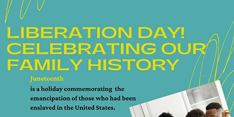 Liberation Day! Celebrating Our Family History tickets