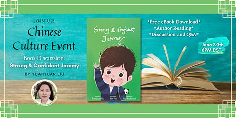 Book Discussion: Strong and Confident Jeremy tickets