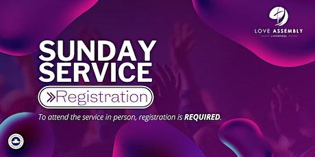 Sunday Service Registration - Love Assembly Liverpool tickets