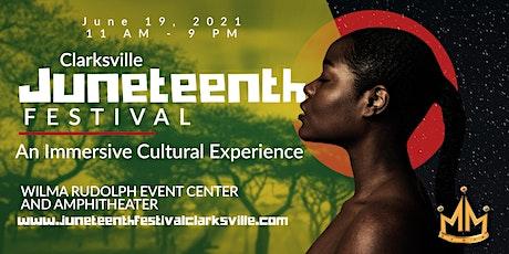 Clarksville's First Annual Juneteenth Festival tickets