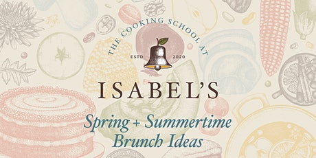 Cooking Classes with Sue Chef: Spring + Summertime Brunch Ideas tickets
